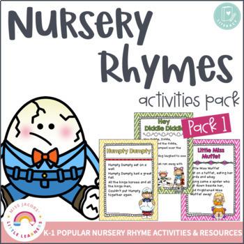 Nursery Rhymes Bundle 1, 2 & 3