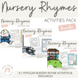 Nursery Rhyme Activities {Bundle}