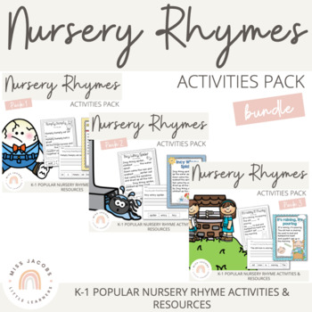Nursery Rhymes Bundle 1, 2 & 3