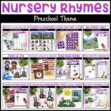 Nursery Rhymes Bundle | Math & Literacy Activities