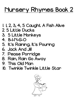 Nursery Rhymes Bundle Pack by Kinder League