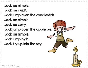 Nursery Rhymes Cards