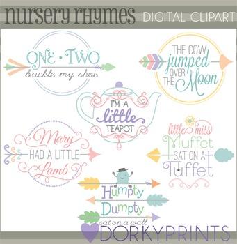 Nursery Rhymes Clip Art