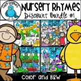 Nursery Rhymes Clip Art Bundle - Chirp Graphics