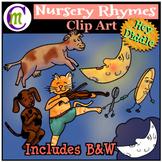 Nursery Rhymes Clip Art Hey Diddle Diddle