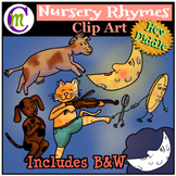 Nursery Rhymes Clip Art Hey Diddle Diddle