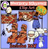 Nursery Rhymes Clip Art Set 2