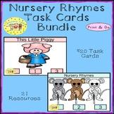 Nursery Rhymes Clip Cards Bundle
