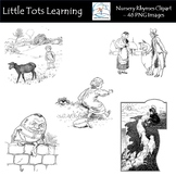Nursery Rhymes Clipart Bundle - Commercial Use