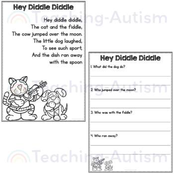 Nursery Rhymes Comprehension