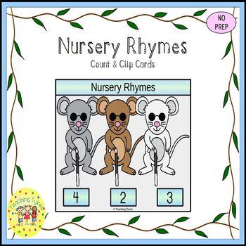 Nursery Rhymes Task Cards