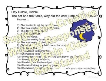 Nursery Rhymes - Creative Writing