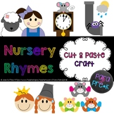 Nursery Rhymes Cut and Paste Craft Templates Bundle - 10 in all!