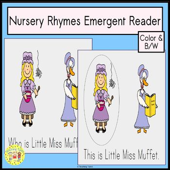 Nursery Rhymes Emergent Reader