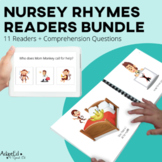 Nursery Rhymes Emergent Reader + Reading Comprehension GRO