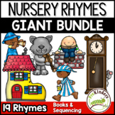 Nursery Rhymes Giant BUNDLE of Books & Sequencing Cards