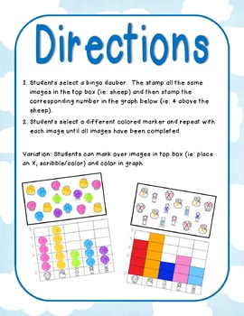 Nursery Rhymes Graphs and Spinners Set 1