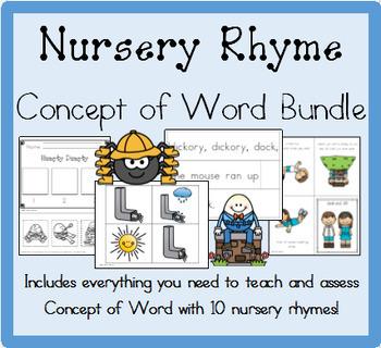 Nursery Rhyme Concept of Word Bundle