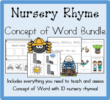 Nursery Rhyme Concept of Word Bundle