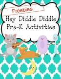 Nursery Rhymes- Hey Diddle Diddle Freebie