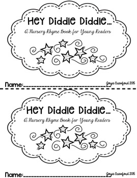 Nursery Rhymes: Hey Diddle Diddle Mini Books