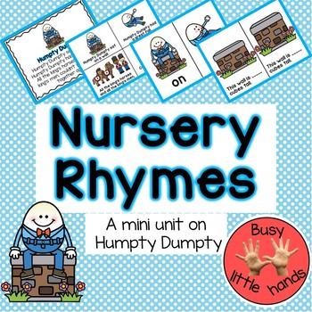 Humpty Dumpty- mini unit for Preschool