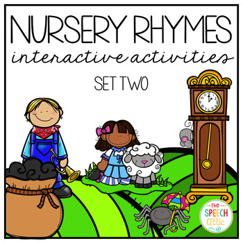 Nursery Rhymes: Interactive Books and Activities Set Two