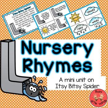 Nursery Rhymes- Itsy Bitsy Spider