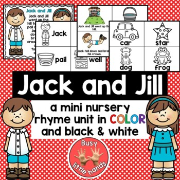 Nursery Rhymes- Jack and Jill