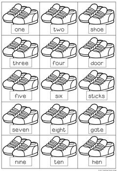 Nursery Rhymes Literacy & Numeracy Package
