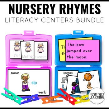 Nursery Rhymes Literacy Tasks Growing Bundle