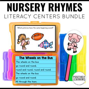 Nursery Rhyme Centers Bundle