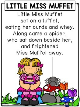 Nursery Rhymes: Little Miss Muffet