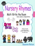 Nursery Rhymes Math Write the Room Baa Baa Black Sheep