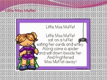 Nursery Rhymes (Muffet, Jack/Jill, Jack Nimble, Jack Horner)