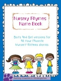 Nursery Rhymes Name Activity