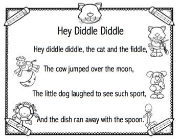 Nursery Rhymes No Prep