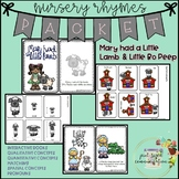 Nursery Rhyme Packet for Language Therapy