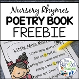 FREE Nursery Rhymes Poetry Book Pages