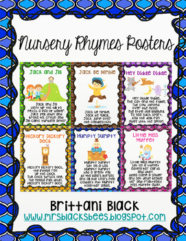 Nursery Rhymes Posters