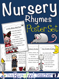 Nursery Rhymes Posters (or Class Book) - Set of 26 Nursery Rhymes