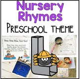 Nursery Rhymes Math and Literacy Centers for Preschool, PreK, and Kinder