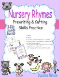 Nursery Rhymes Prewriting and Cutting Skills Practice Hey