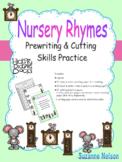 Nursery Rhymes Prewriting and Cutting Skills Practice Hick