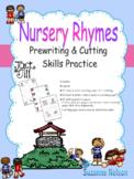 Nursery Rhymes Prewriting and Cutting Skills Practice Jack
