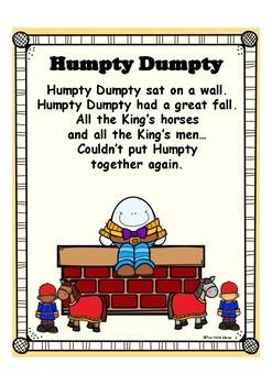 Nursery Rhymes Printables - Posters