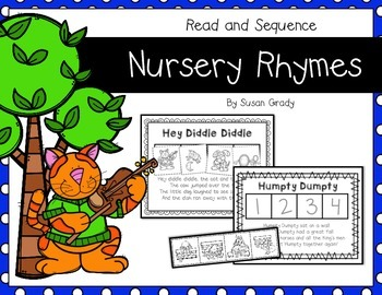 Nursery Rhymes {Read and Sequence}