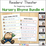 Nursery Rhymes Readers' Theater Scripts for Kindergarten and First Grade