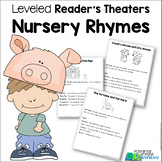 Nursery Rhymes Readers Theaters {Leveled} Set 1