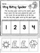 Nursery Rhymes Printables -  Story Retelling Worksheets - NO PREP